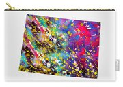 Map Of Colorado-colorful Carry-all Pouch