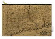 Map Of Connecticut 1797 Carry-all Pouch