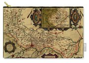 Map Of Cremona 1579 Carry-all Pouch