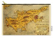 Map Of Cyprus 1562 Carry-all Pouch