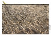 Map Of Danbury 1875 Carry-all Pouch