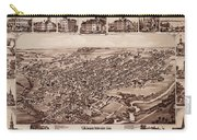 Map Of Dover 1885 Carry-all Pouch