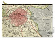 Map Of Dublin Carry-all Pouch