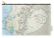 Map Of Ecuador 2 Carry-all Pouch