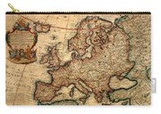 Map Of Europe 1700 Carry-all Pouch