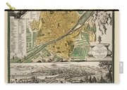 Map Of Florence 1731 Carry-all Pouch