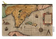 Map Of Florida 1591 Carry-all Pouch