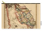 Map Of Georgia 1817 Carry-all Pouch