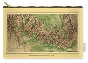Map Of Grand Canyon 1926 Carry-all Pouch