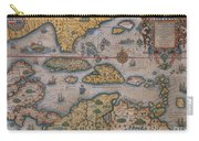 Map Of Gulf Of Mexico And C Carry-all Pouch