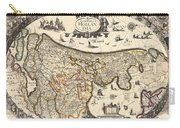 Map Of Holland 1630 Carry-all Pouch