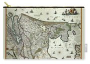 Map Of Holland 1682 Carry-all Pouch