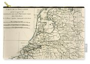Map Of Holland Including The Seven United Provinces Of The Low Countries Carry-all Pouch