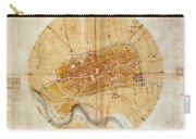 Map Of Imola 1502 Carry-all Pouch