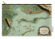 Map Of Jamaica 1756 Carry-all Pouch