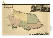 Map Of Jamaica 1763 Carry-all Pouch