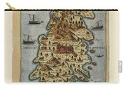 Map Of Malta 1565 Carry-all Pouch