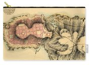 Map Of Montevideo 1808 Carry-all Pouch