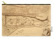 Map Of Montreal 1758 Carry-all Pouch