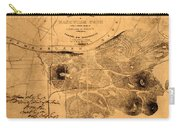 Map Of Nashville 1860 Carry-all Pouch
