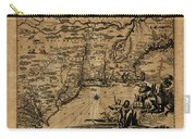 Map Of New York 1600 Carry-all Pouch