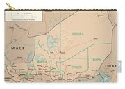 Map Of Niger Carry-all Pouch