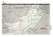 Map Of Pakistan2  Carry-all Pouch