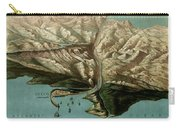 Map Of Panama Canal 1881 Carry-all Pouch