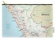 Map Of Peru 2 Carry-all Pouch
