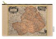 Map Of Rheims 1636 Carry-all Pouch