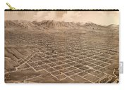 Map Of Salt Lake City 1875 Carry-all Pouch