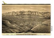 Map Of Santa Barbara 1877 Carry-all Pouch