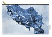 Map Of Sfrj Yugoslavia-blue Carry-all Pouch