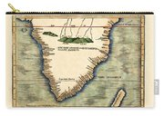 Map Of South Africa 1513 Carry-all Pouch