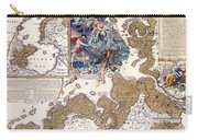 Map Of The Christmas Flood Of 1717 Carry-all Pouch