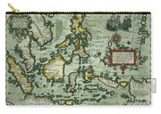 Map Of The East Indies Carry-all Pouch by Dutch School
