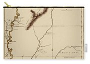 Map Of The Mississippi Riverr 1775 Carry-all Pouch