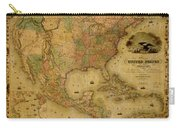 Map Of The United States 1849 Carry-all Pouch