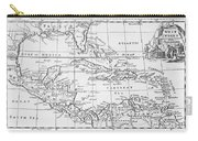 Map Of The West Indies Florida And South America Carry-all Pouch