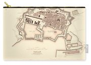 Map Of Toulon 1840 Carry-all Pouch
