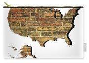 Map Of Usa And Wall. Carry-all Pouch