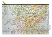 Map: Scotland Carry-all Pouch
