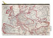 Map: Thirty Years War Carry-all Pouch