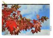 Maple Leaves Against The Sky  Carry-all Pouch
