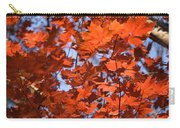 Maple Leaves Aglow Carry-all Pouch
