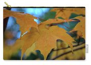Maple Leaves In Autumn Carry-all Pouch