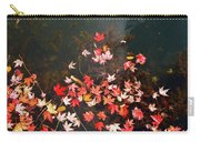 Maple Leaves On The Water  Carry-all Pouch