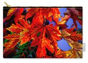 Maple Leaves Carry-all Pouch