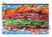 Maple Trees On The Lake Carry-all Pouch