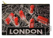 Maps From London Town Carry-all Pouch
